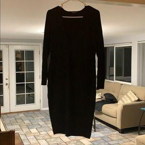 Express V Neck Dress